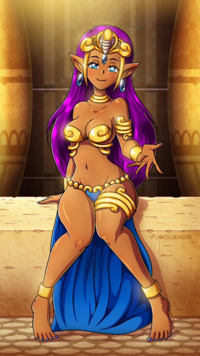 Princess Shantae by LinkerLuis