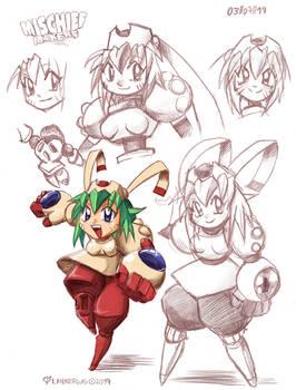 Marina (Mischief makers)