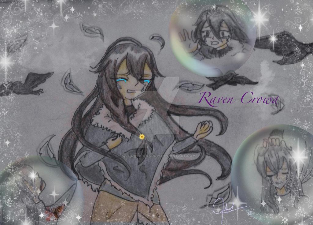 Raven Crowd by Kat-Dark-Shadow