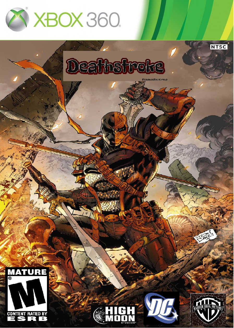 Deathstroke Xbox 360 Game Cover by DeadBones001 on DeviantArtXbox 360 Game Covers
