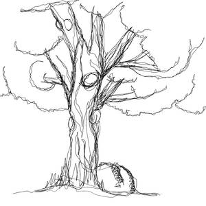 A tree in one line.