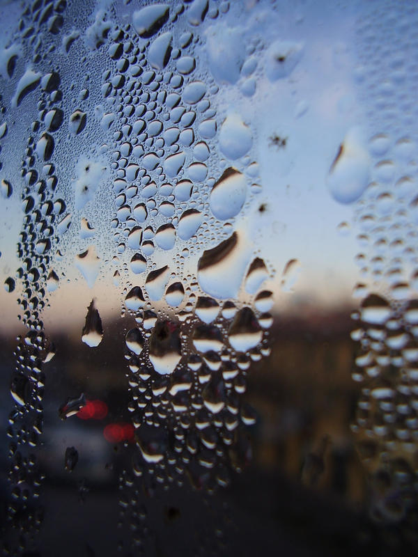 raindrops. by smokedval-stock