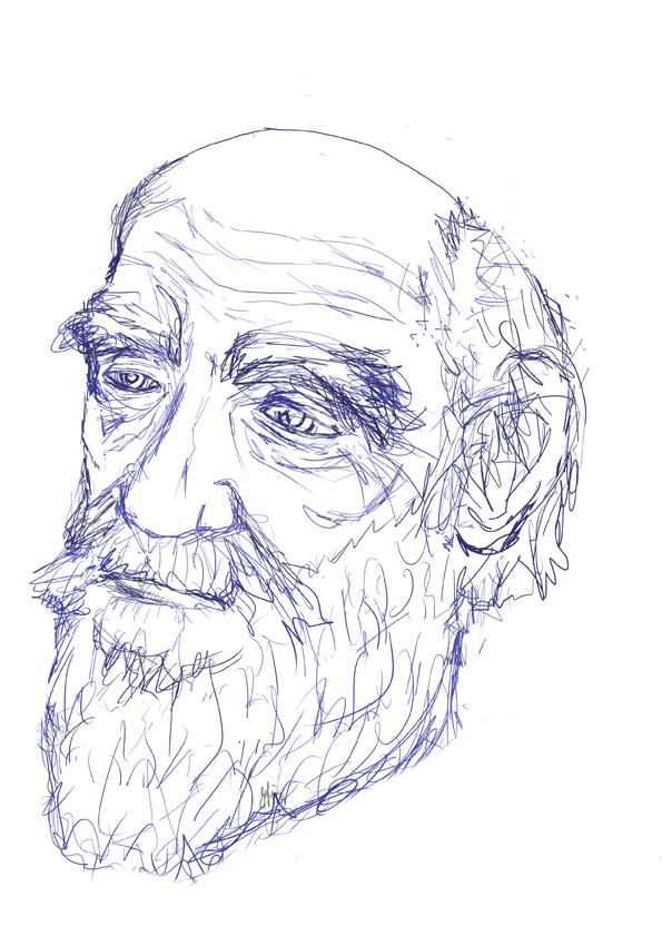 Darwin realism sketch by blueDREAM-SH
