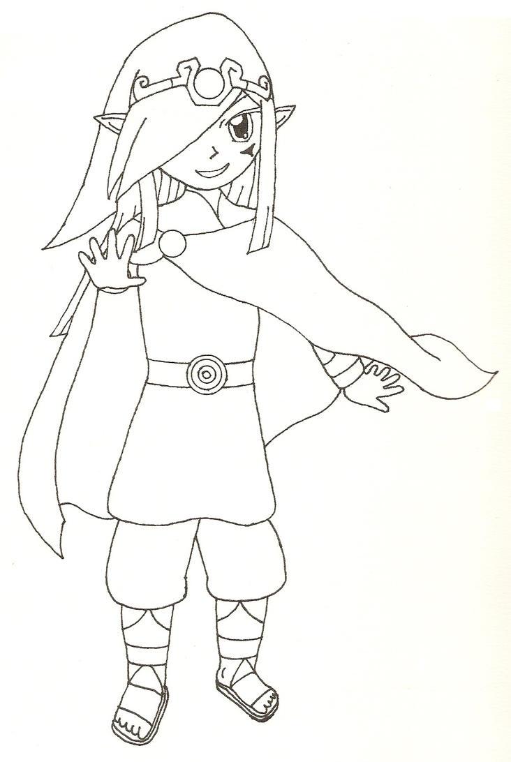 Vaati Sketch by Tassaron