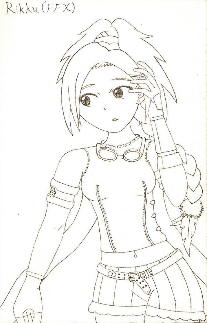Rikku by Tassaron