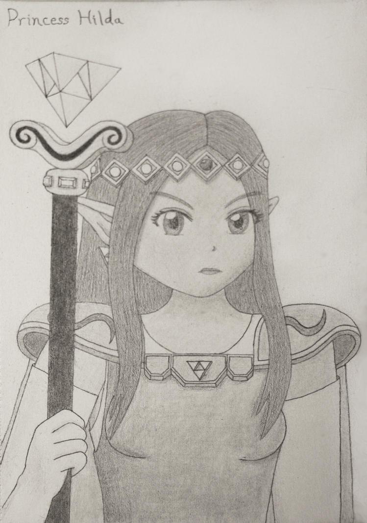 Princess Hilda Sketch by Tassaron