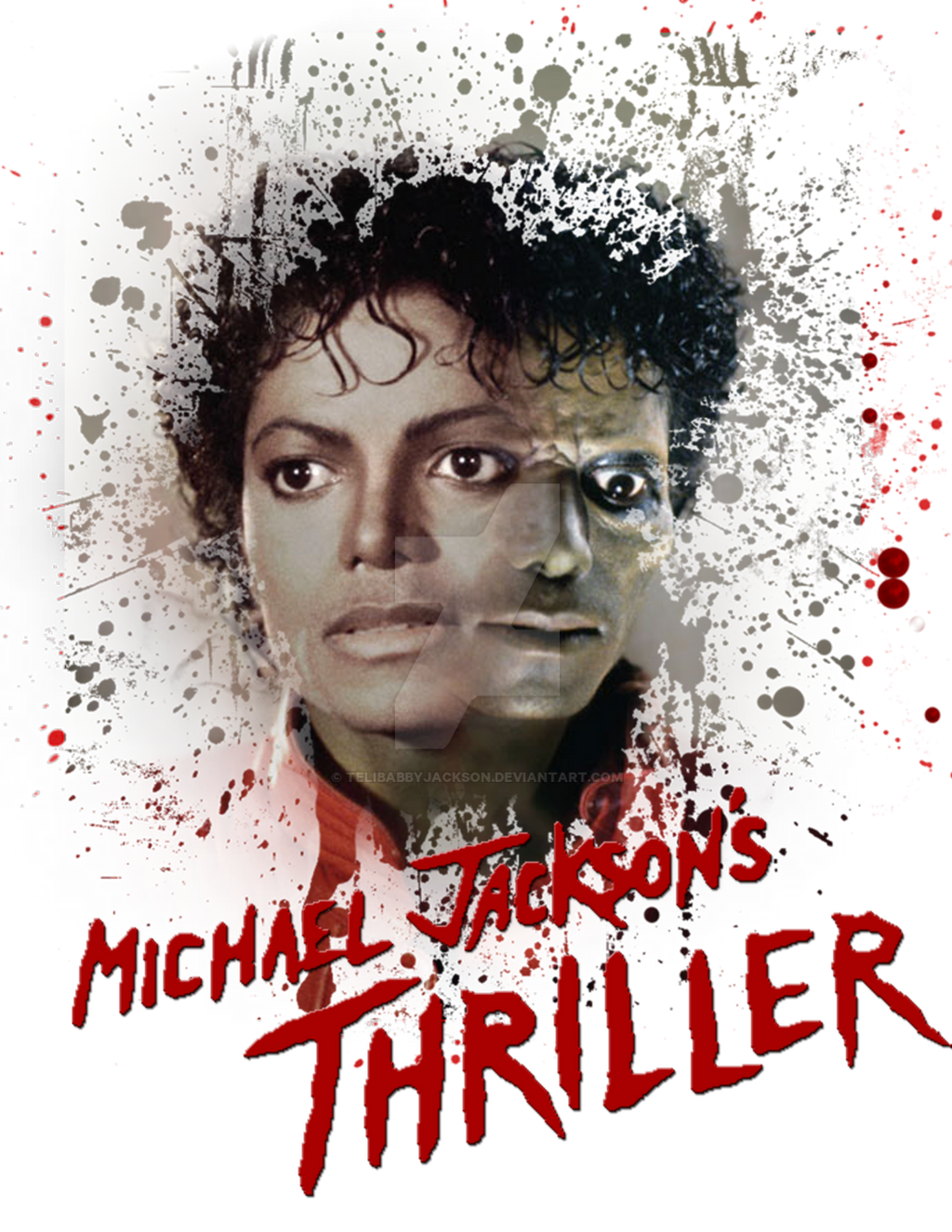 Michael Jackson s Thriller by Michael Jackson Curly Hair 2009