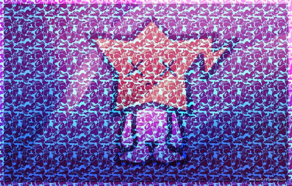 Kaws bape mac wallpaper by young fx on deviantart - Bape wallpaper mac ...
