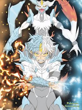 White Kyurem (Human Form)