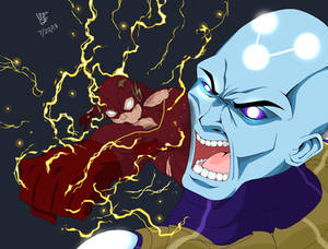 The Flash vs Supreme Brainiac