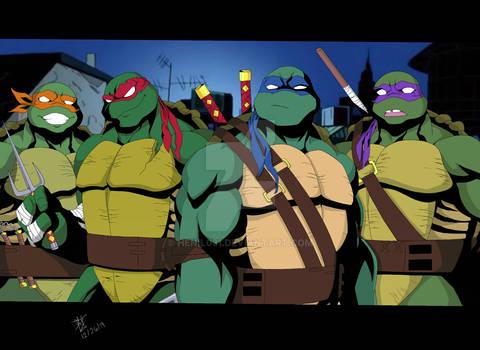 Teenage Mutant Ninja Turtles ( 2012 )