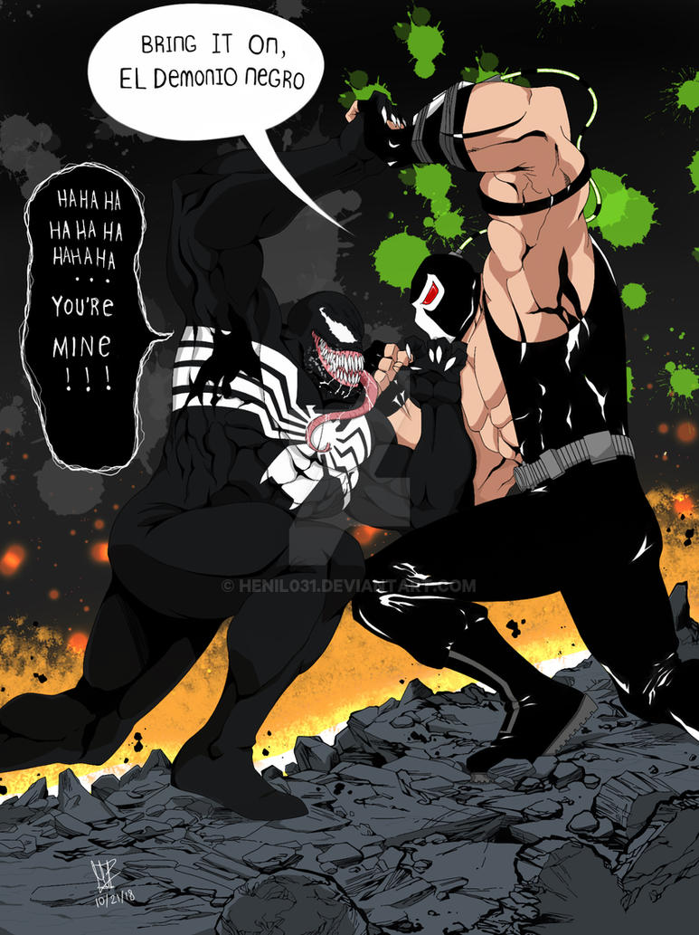 Venom vs Bane : Part 1 by Henil031