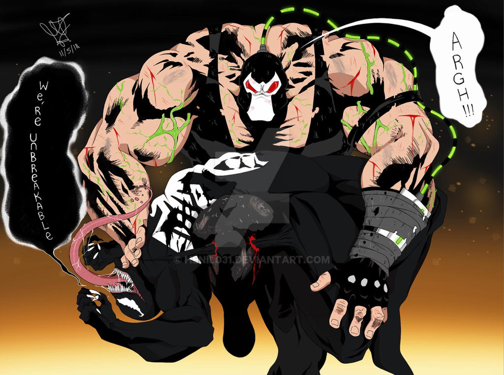 Venom vs Bane : Part 2 by Henil031