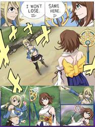 Lucy Heartfilia vs Yuna