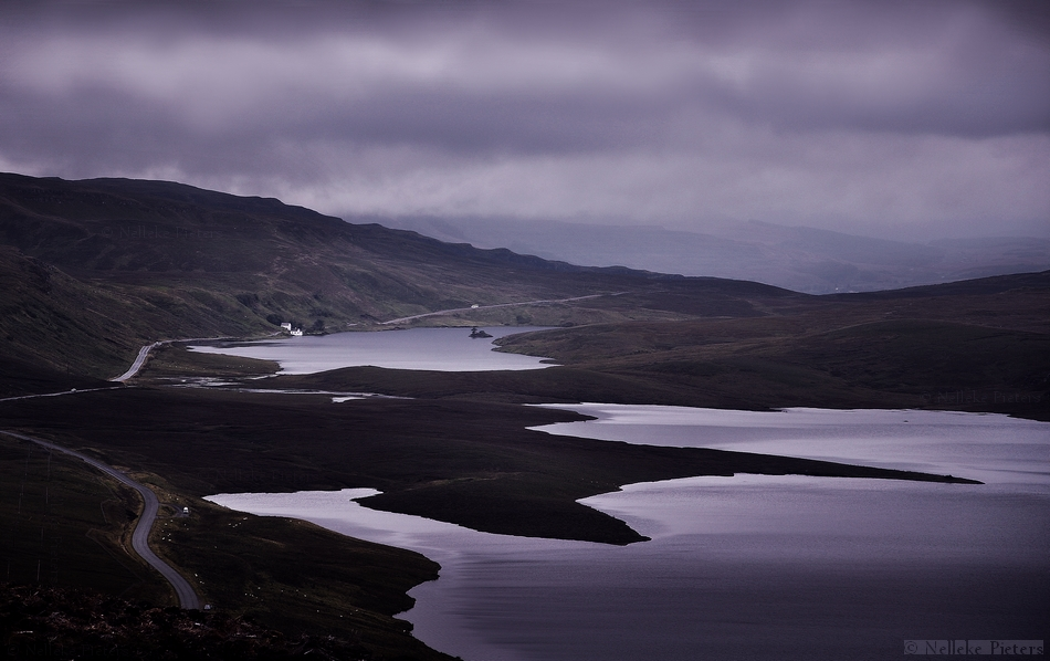 Dark Skies Over Scotland by Nelleke