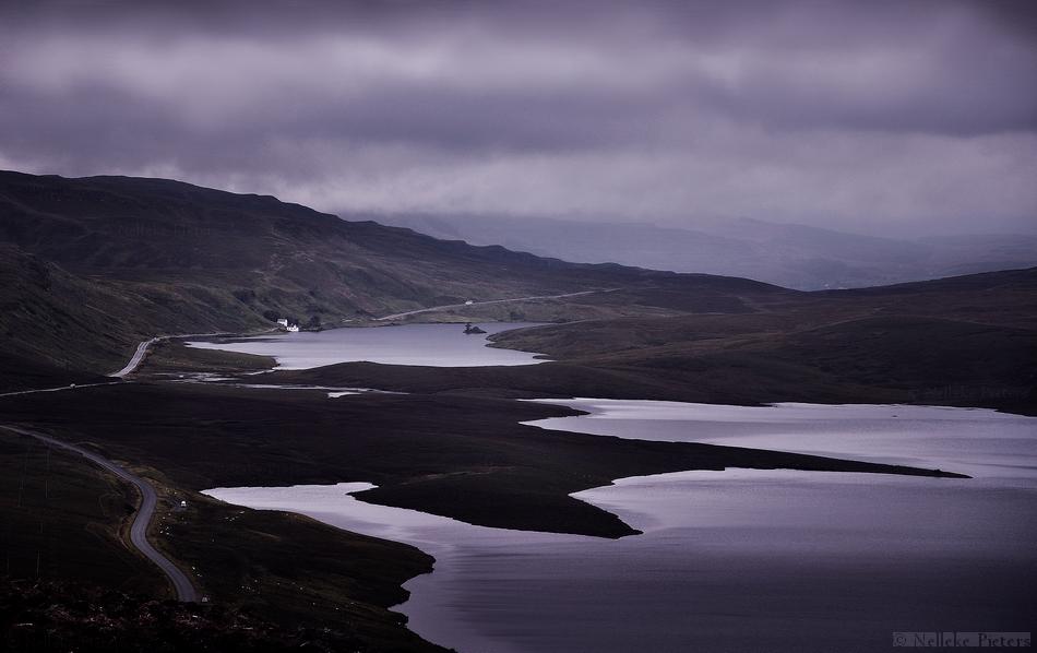 Dark Skies Over Scotland by Nelleke