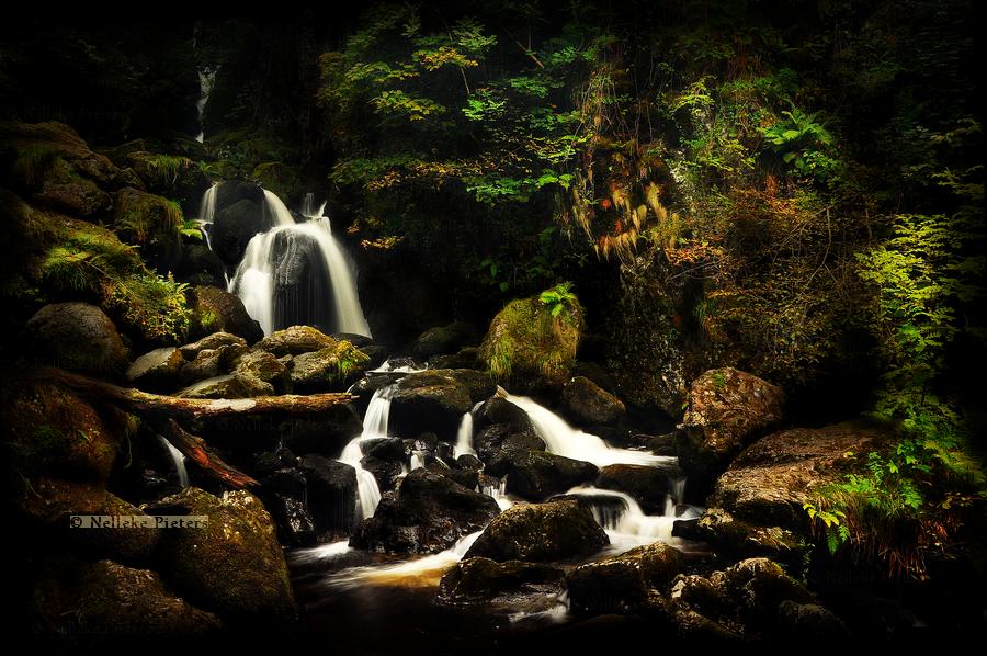 Lodore Falls by Nelleke