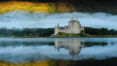Kilchurn Castle by Nelleke