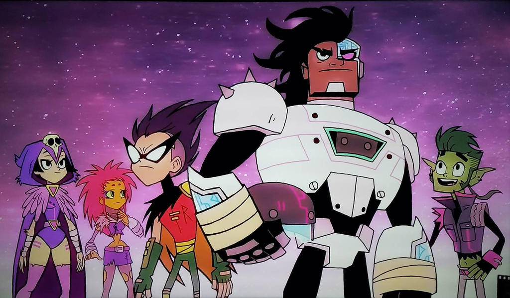 Teen titans go the night begins to shine by ocrespo77 on deviantart - The night begins to shine full episode ...