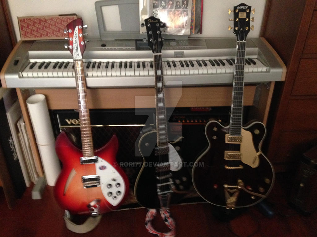 George Harrison Guitar Collection by rori77 on DeviantArt
