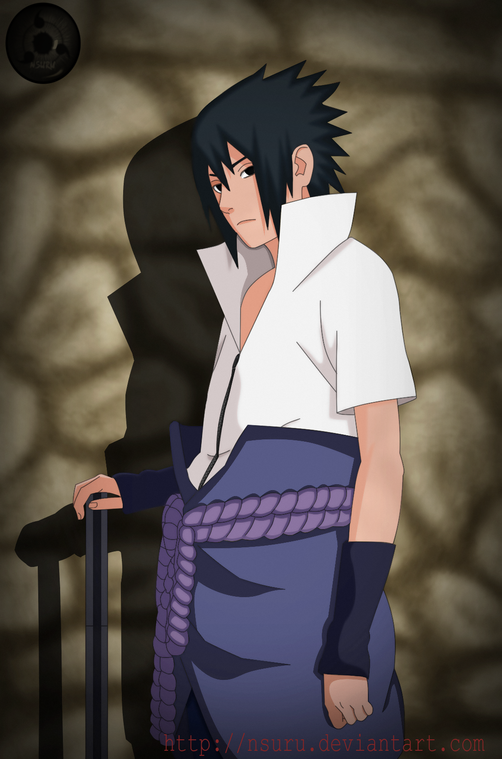 Sasuke tomo del manga numero 408 by NSURU on DeviantArt