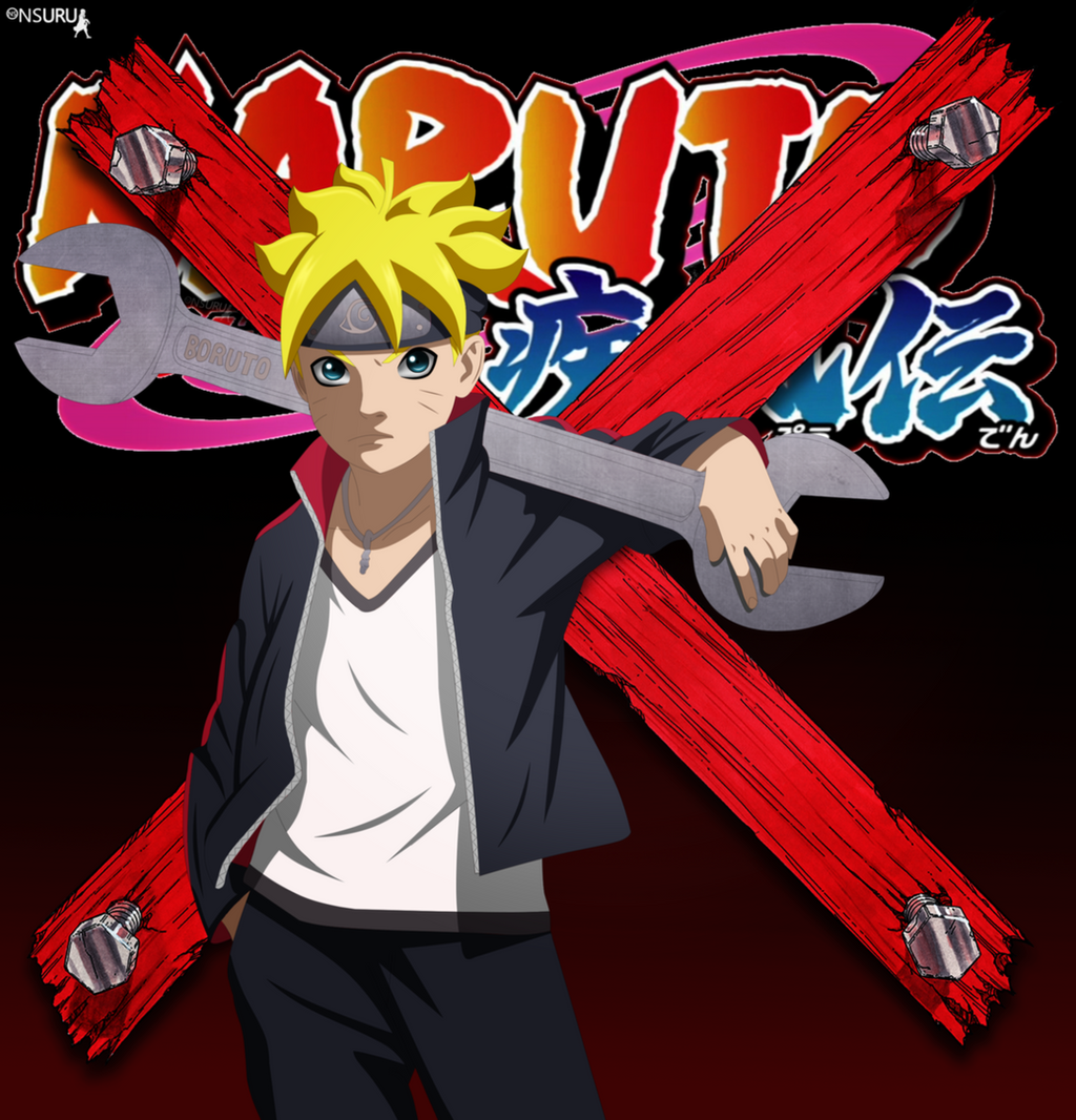 Boruto Uzumaki By Nsuru On Deviantart