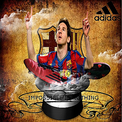 L.Messi. Impossible is nothing by Djam00071 on DeviantArt
