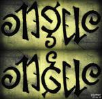 Ambigram_Angelo