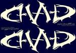 Ambigram_Chad