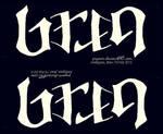 Ambigram_Bren