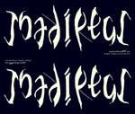 Ambigram_Tsadiktus