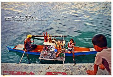 Sea Gypsies at Work by psymer