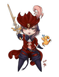 Redmage by myoo