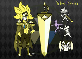 SU- Heliodor/Yellow Diamond (Headcanon 3) by Zistheone