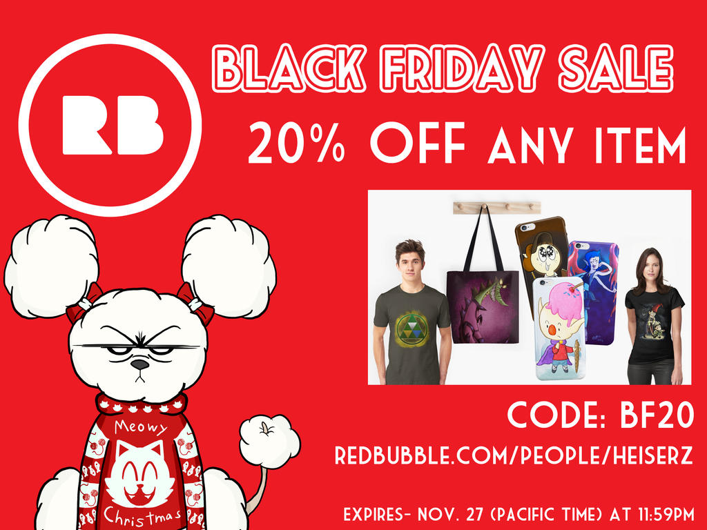 Redbubble Shop Set For Black Friday By Zistheone On Deviantart