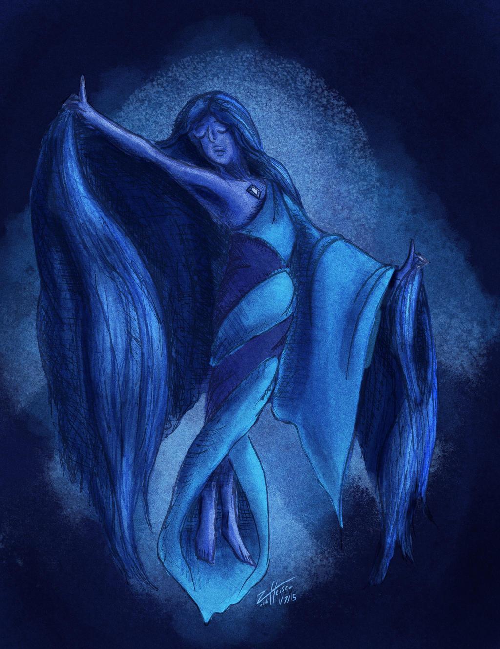 Blue Diamond Cosplay