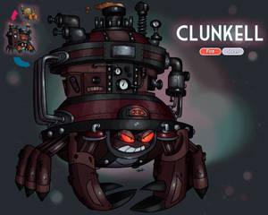 Clunkell (Galarian Crustle Evolution)