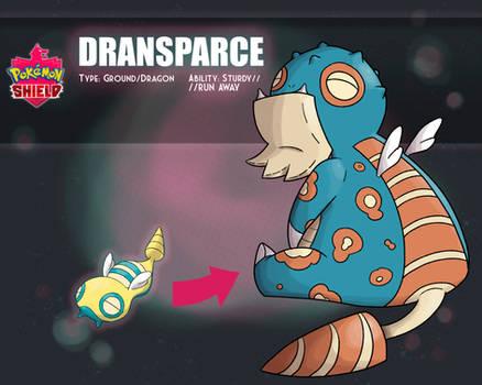 Dransparce (Dunsparce Galarian Evo.)