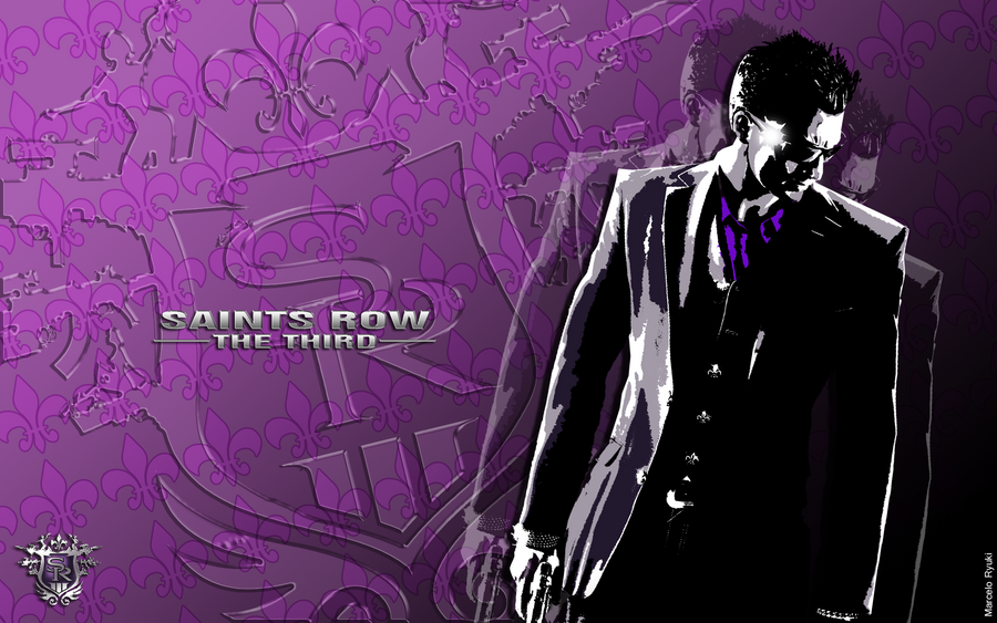 saints row the third original wallpaper by marceloryuuku