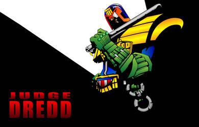 Judge Dredd by marceloryuuku