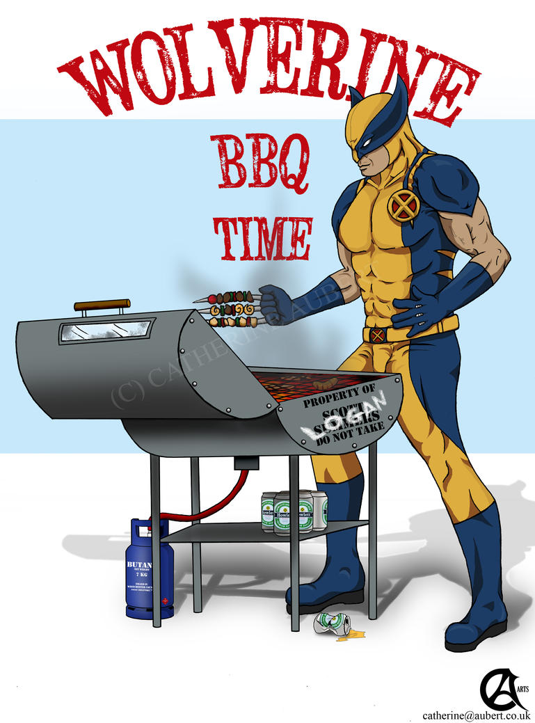 wolverine__s_bbq_time__by_shadow_of_insa