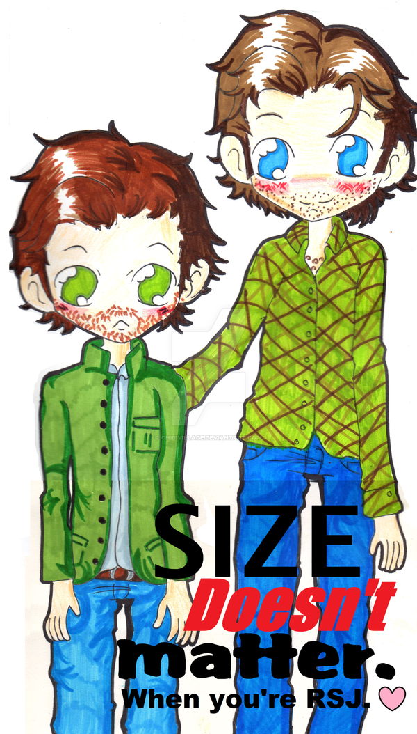 Size doesn't matter,When you're Richard Speight JR by ChibiVillage