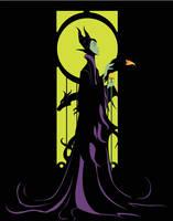 Maleficent by wnhsr
