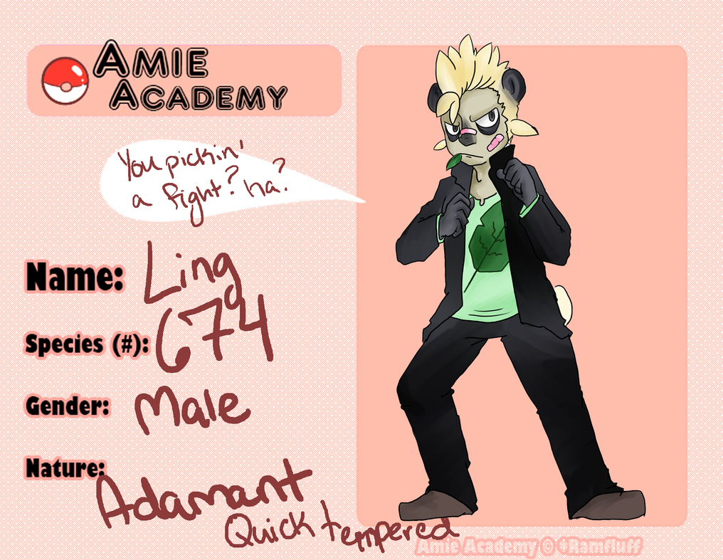 A-academy: Ling by Hyuu-Chuu