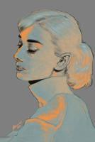 Hepburn by JBarrero
