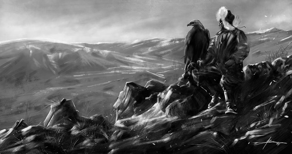 Eagle of Mongolia by JBarrero