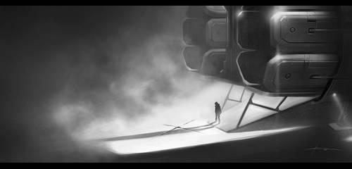 Sci-fi treasure by JBarrero