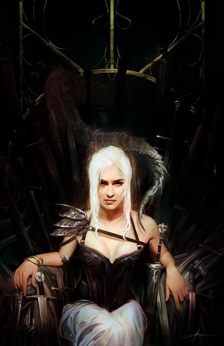 Daenerys Targaryen by JBarrero