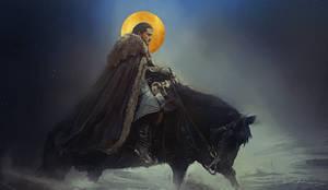Jon Snow - Azor Ahai by JBarrero