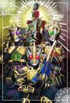 All Kamen Rider Blade King